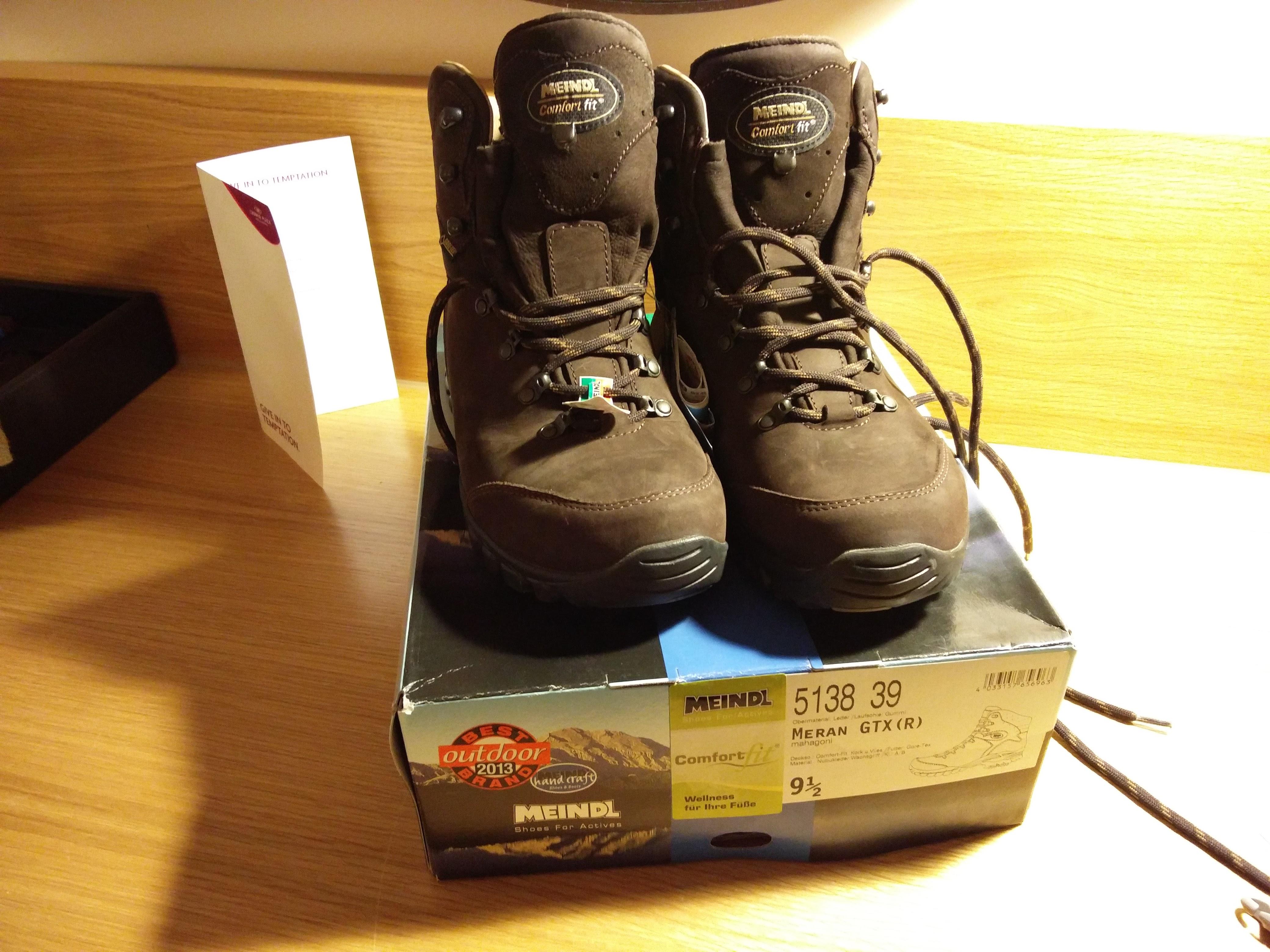 coast to coast walk preparation - my meindl boots